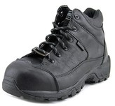 Wolverine Nomad Hi Women Composite Toe Leather Black Work Boot.