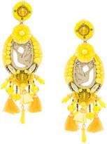Ranjana Khan beaded long earrings