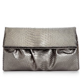 Style&Co. Tabitha Python Large Foldover Clutch