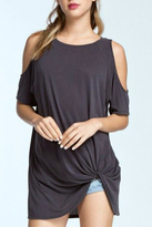 Cherish Cold Shoulder Top