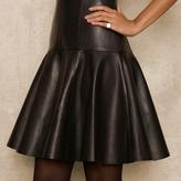 Ralph Lauren Blue Label Sleeveless Leather Dress
