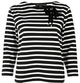 Marc by Marc Jacobs Lace-up Detail T-shirt