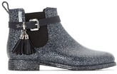 BeOnly BE ONLY Cristina Glitters Navy Wellington Boots