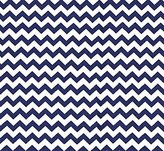 Camilla And Marc SheetWorld Fitted Pack N Play Sheet - Royal Blue Chevron Zigzag - Made In USA - 29.5 inches x 42 inches (74.9 cm x 106.7 cm)