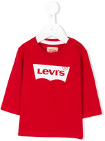 Levi's Kids long sleeve shirt with logo