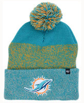'47 Miami Dolphins Static Cuff Pom Knit Hat