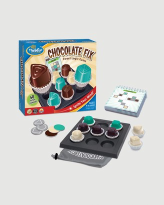 ThinkFun - Blue Games - Chocolate Fix Game Age 8 and Up - Size One Size at The Iconic