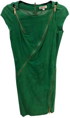 Jitrois Green Suede Dress for Women