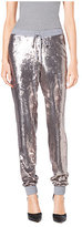 Michael Kors Sequined Jersey Track Pants