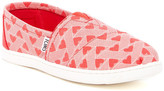 Toms Canvas Hearts Slip-On Shoe (Little Kid & Big Kid)