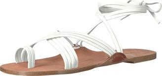 Via Spiga Women's Allegra Ankle Wrap Sandal