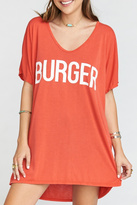 Show Me Your Mumu Burger Tunic Tee
