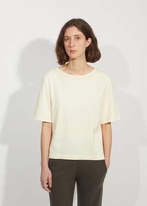 La Garçonne Moderne Cotton Terry Drafting Tee