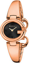 Gucci Ladies Guccissima Pink Goldtone Watch - 27mm