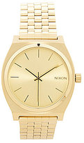 Nixon The Time Teller Stainless Steel 3 Hand Analog Watch