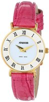 Jowissa Women's J2.101.S Roma Colori Gold PVD Dial Roman Numeral Pink Watch