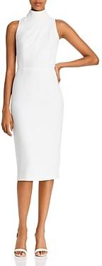 Jay Godfrey Newton High Neck Sheath Dress
