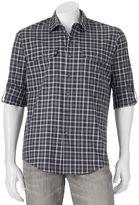 Apt. 9 Men's Modern-Fit Plaid Roll-Tab Button-Down Shirt