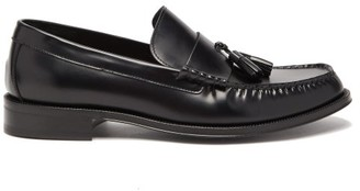Paul Smith Lewin Tasselled Leather Loafers - Mens - Black