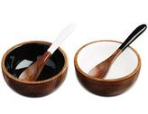 Just Slate Sheesham Wood Serving Bowl Set of 2
