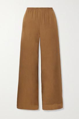 Vince Silk-blend Wide-leg Pants