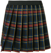 P.A.R.O.S.H. plaid pleated mini skirt