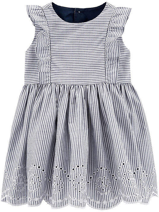 951505992 Carter's Blue Girls' Dresses - ShopStyle