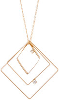Stephan & Co Square Geo Pendant Necklace