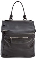 Givenchy 'Pandora' Waxy Leather Backpack - Black