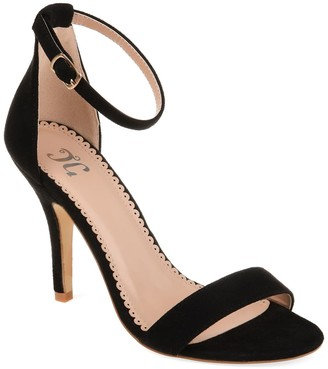 Journee Collection Polly Ankle Strap Pump