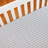 Living Textiles Jabali Dots Cot Fitted Sheet