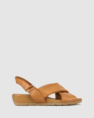 Airflex Women's Wedge Sandals - Zada Leather Wedge Sandals - Size One Size, 6 at The Iconic
