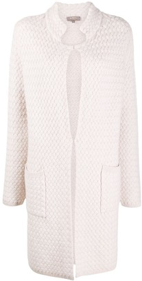 N.Peal Cocoon Shape Cashmere Cardigan