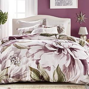 Peri Home Peony Blooms Comforter Set, Queen
