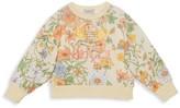 Gucci Little Girl's & Girl's Flora Printed Sweatshirt
