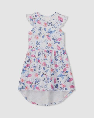 Milky Floral Dress - Kids