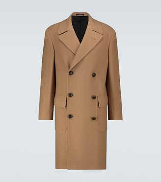The Gigi Elon wool overcoat