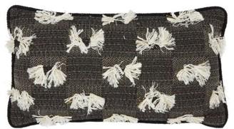 Tibor - Cymbeline Boucle Cushion - Black White