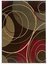 """Sphinx Oriental Weavers Amelia Circle Brown Rug 2'6"""" x 4'5"""""""