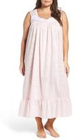 Eileen West Plus Size Women's Jersey Ballet Nightgown