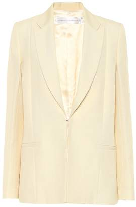 Victoria Victoria Beckham Slim linen-blend blazer