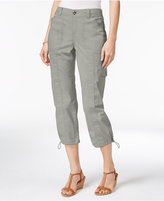 Style&Co. Style & Co Cargo Capri Pants, Only at Macy's
