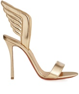 Christian Louboutin Samotresse 100mm metallic-leather sandals