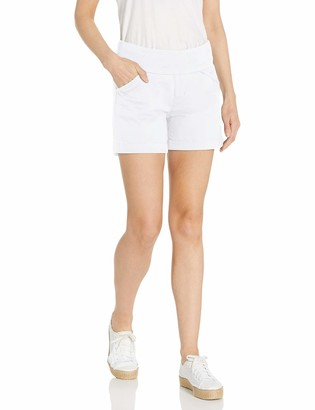 """Jag Jeans Women's Ainsley Pull on 5"""" Short in Bay Twill"""