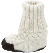 Oeuf Girls' Knit Sock Booties w/ Tags
