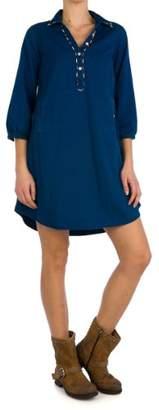 Replay Women's 3/4 Sleeve Dress - - 8