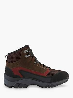 Haglöfs Skuta Mid Proof Eco Women's Walking Boots, Maroon Red/Barque