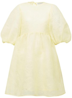 Cecilie Bahnsen Mabel Dress with Puff Sleeves