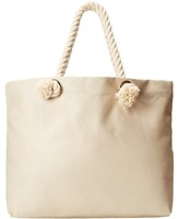 Hat Attack Perfect Canvas Beach Tote w/ Rope Handles