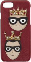 Dolce & Gabbana Red Crowned Designers Iphone 7 Case